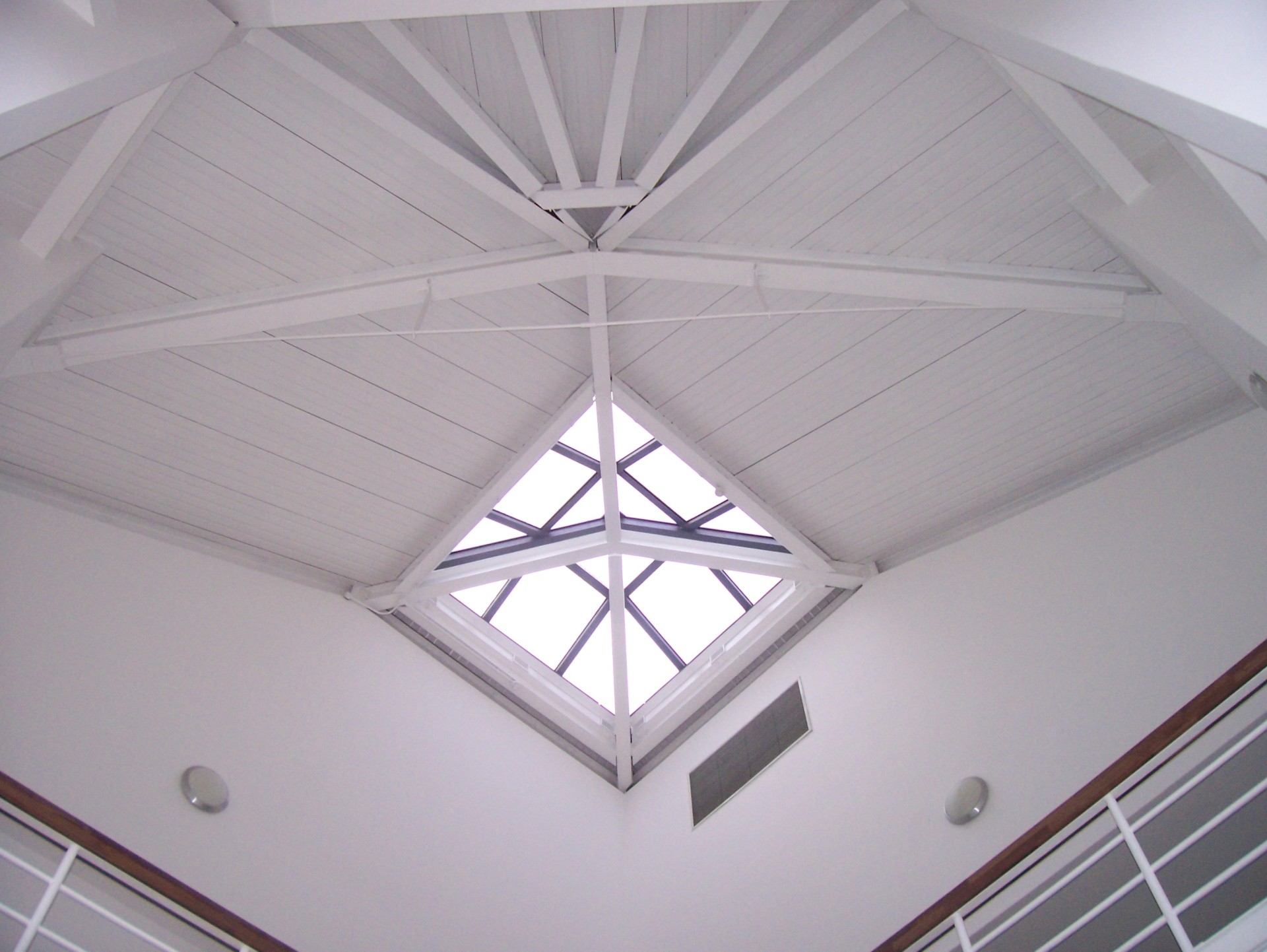 Architectural design of vaulted ceiling