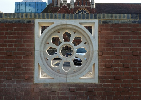 Rose Window  at West Croydon Bus Station